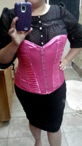 real plus size waist training diary