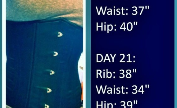 real waist training diary