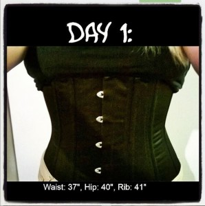 waist training diary and reviews