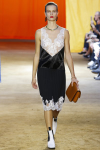 dress with laces, Céline, 2016