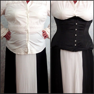 plus size waist training