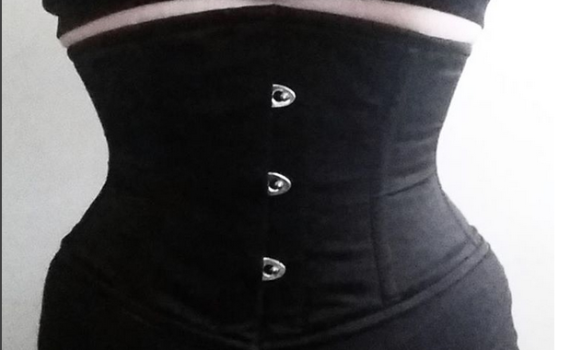 waist training diary with waspie